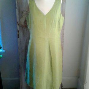 New Talbots 100% linen dress 16